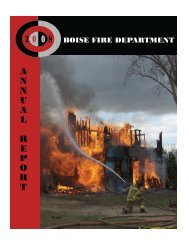 2008 Annual Report - Letter Size - Boise Fire Department