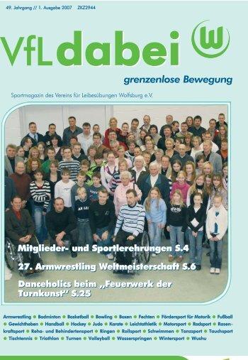 5. Platz bei Weltmeisterschaften in Spanien - VfL Wolfsburg