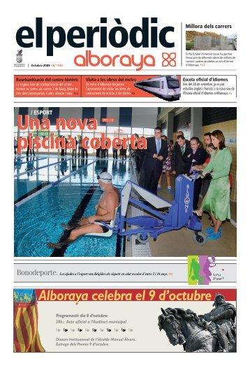 Una nova piscina coberta Una nova piscina coberta - Alboraya