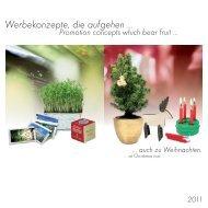Werbekonzepte, die aufgehen ... - Kampmann GmbH - International