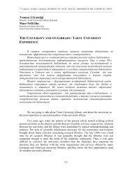 Latvijas bibliotēkas attīstībā/Latvia libraries in progress - Academia
