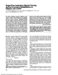 Target-Flow Inspiratory Muscle Training during Pulmonary ...