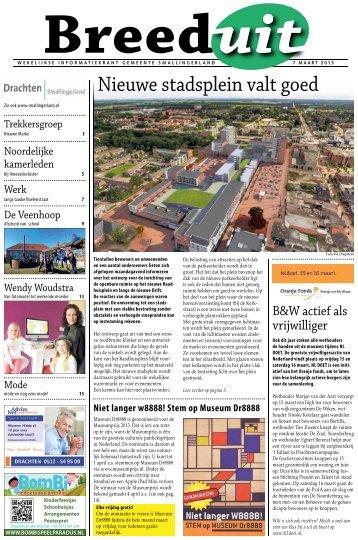 Breeduit 7 mrt 2013 (pdf) - Gemeente Smallingerland