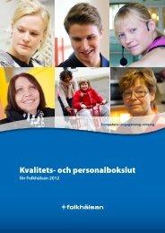 Personalbokslut 2012.pdf - Folkhälsan