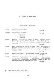 Administration générale et économie du département (1800-1940)