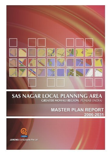 master plan report - Punjab Urban Planning and Development ...