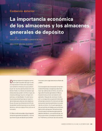 La importancia económica de los almacenes y los almacenes ...