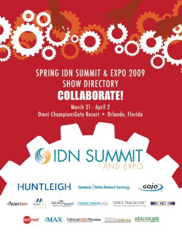 9:30 pm - IDN Summit and Expo