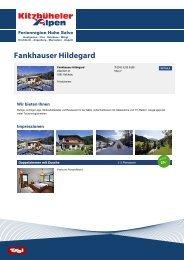 Fankhauser Hildegard - Ferienregion Hohe Salve