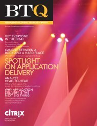 SpoTliGhT on ApplicATion Delivery - Preferred Technology Solutions