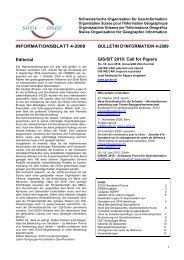 INFORMATIONSBLATT 4-2009 BULLETIN D'INFORMATION 4-2009 ...