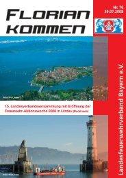 Ausgabe Nummer 76 - LFV Bayern eV