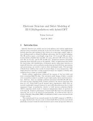 Electronic Structure and Defect Modeling of III-V(Sb)Superlattices ...