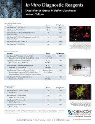 In Vitro Diagnostic Reagents Flyer