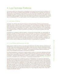 4. Los Factores Políticos - icaso