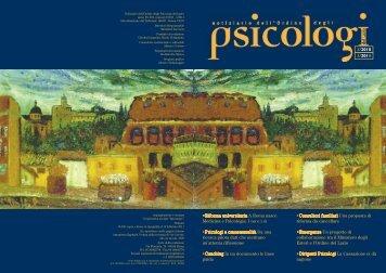 Notiziario n. 3/2010-1/2011 - Ordine degli Psicologi del Lazio