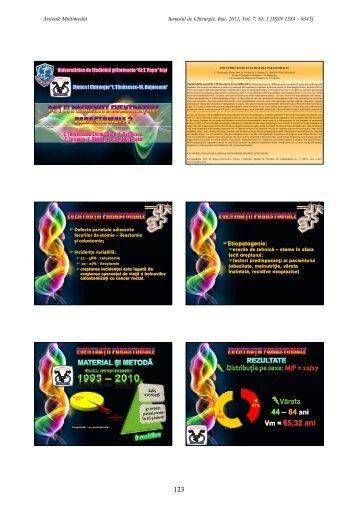 Format PDF - Jurnalul de Chirurgie