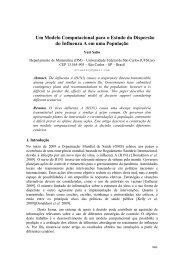 Um Modelo Computacional para o Estudo da Dispersão do ...