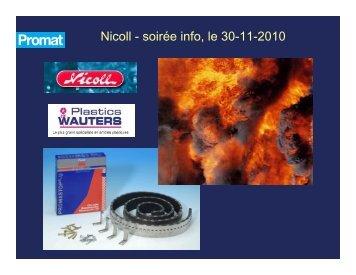 Présentation comaltages Nicoll - FR - Previ