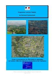 Programme Local de l'Habitat de Clermont Communauté Porter à ...