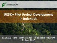 REDD+ Pilot Project Development in Indonesia - Forest Climate ...