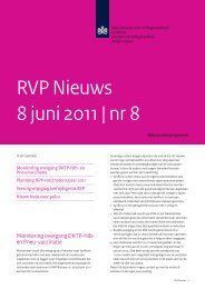 RVP Nieuws 8 juni 2011 | nr 8 - Caransscoop