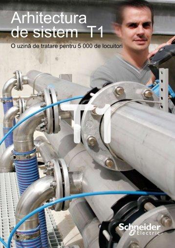 Ghid arhitectura de sistem T1 pentru industria apei - Schneider Electric