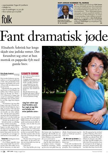 Fant dramatisk jødehistorie i IKEA-eske - Spartacus Forlag AS
