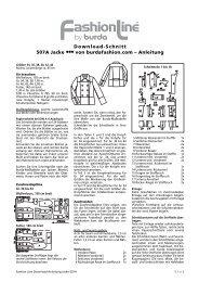 Download-Schnitt 507A Jacke ••• von burdafashion.com ... - Burdastyle