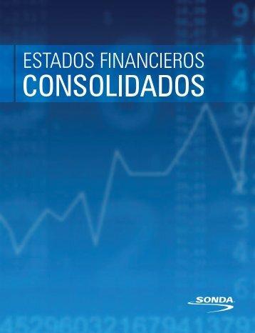 estados consolidados de situación financiera de sonda s.a. y filiales