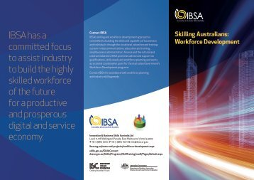 Skilling Australians Workforce Development - Innovation & Business ...
