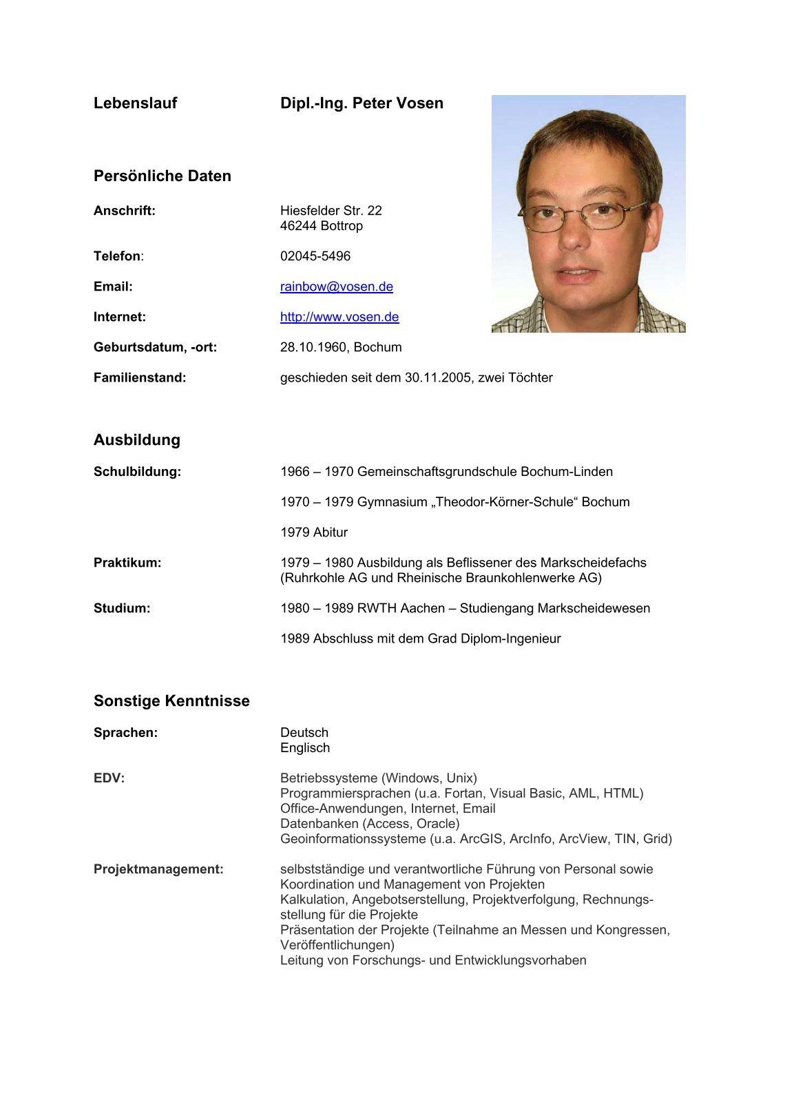 Tolle Diplom Bauingenieurwesen Lebenslauf Galerie - Bilder für das ...