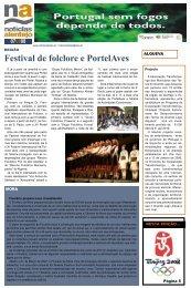 Festival de folclore e PortelAves