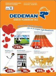Revista DEDEMAN - Catalog promotii si oferte 24 mai - 20 ... - Infoo.ro