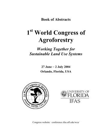 Agroforestry congress abstracts.pdf - the NR group
