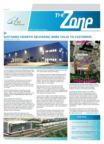 Economic Zones World Bi-Monthly Newsletter - Issue 20