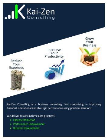 business development - Kai-Zen Consulting