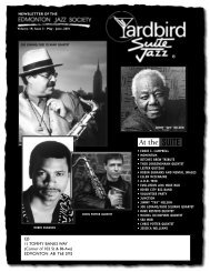 blues - Yardbird Suite