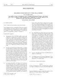 Reglamento de Ejecución (UE) no 739/2011 de la ... - EUR-Lex