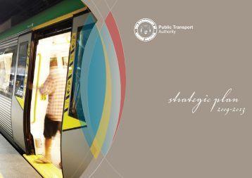 2009-13 Strategic Plan - Public Transport Authority