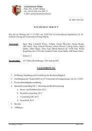 Protokoll_28_Sitzung_ 17.12.2012 - Mellau