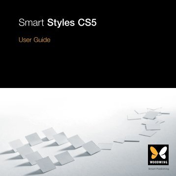 Smart Styles CS5 - WoodWing.com
