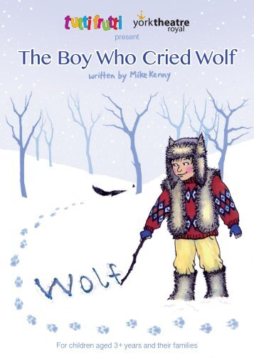 Boy Wolf Poster - tutti frutti productions