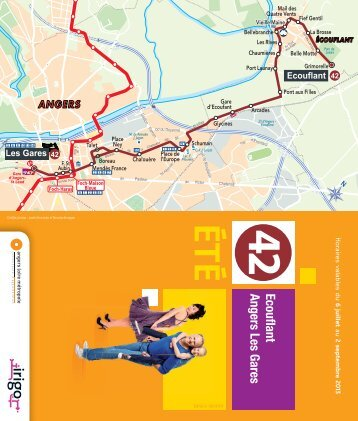 Ligne 42 Eté 2013 - Irigo