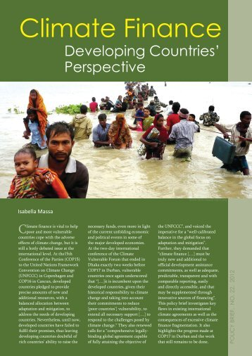 Perspectives - South Asia Watch on Trade, Economics & Environment