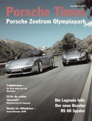 ZONE - Porsche Zentrum Olympiapark