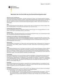Stand: 31.03.2011 Merkblatt über die Durchführung des ... - ADS