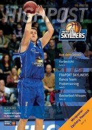 Vorbericht Basketball-Wissen FRAPORT SKYlINERS Dance Team ...
