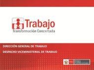 Presentación de PowerPoint - Ministerio del Trabajo y Promoción ...