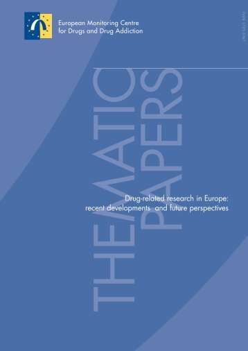 Drug-related research in Europe - EMCDDA - Europa